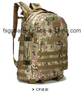 600d Oxford Camo Military Tactical Web Gear Sports Bag Backpack pictures & photos