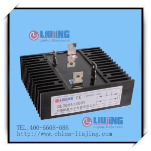 Single Phase Bridge Diode Bridge Rectifier Ql300A pictures & photos