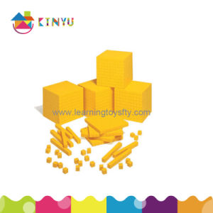 Plastic Base Ten Blocks for Mathematics/Teaching Aids (K001) pictures & photos