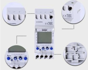 1 Channel 12 Volt DC Programmable Digital Timer Switch (AHC811) pictures & photos