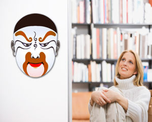 Peking Opera Mask Sticker (TP-073-33)