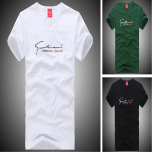 Customized Cotton Silk Screen Printing Advertising T-Shirts pictures & photos