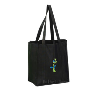 Non-Woven Grocery Tote Bag (hbnb-455) pictures & photos
