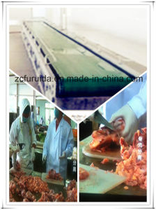 Conveying Machine of Chicken Slaughtering Machine pictures & photos
