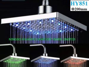 LED Overhead Shower, LED Top Shower Head (HY851) pictures & photos