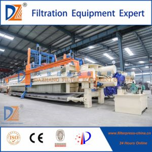 Ce Certificated Automatic Filter Press for Diatomite Sludge Dewatering pictures & photos