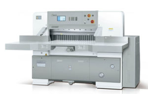 Hydraulic Computerized Paper Cutting Machine (QZ- TK92 CT) pictures & photos