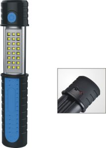 F310b-1A Mini Tool Auto 30+6 SMD Rechargeable Extendable LED Work Light with Magent, Telescopic Work Light