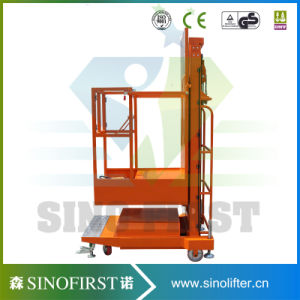 Machine Used for Taking Box Cargo From Rack Shelf Electric Order Picker pictures & photos