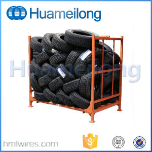 Warehouse Customized Stacking Steel Racks for Tires Storage pictures & photos