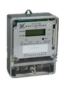 Infrared/RS485/Carrier Module Prepaid Smart Card Electric Meter pictures & photos