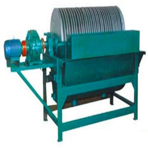 Permanent Wet Magnetic Drum Separator Use Wet Method pictures & photos