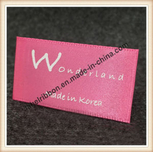 Cloth Brand Woven Label (WL007) pictures & photos
