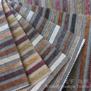 Yarn Dyed Jacquard Chenille Sofa Cloth pictures & photos