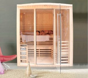Indoor Sauna Room with Glass pictures & photos
