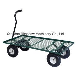 Wagon Garden Cart Heavy Duty Cart Yard Gardening pictures & photos