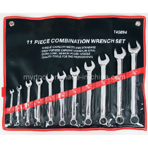 High Quality Wrench Set 11PC with Pouch Bag Case pictures & photos