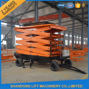 Hydraulic Two Man Mobile Skyjack Scissor Lift for Sale pictures & photos