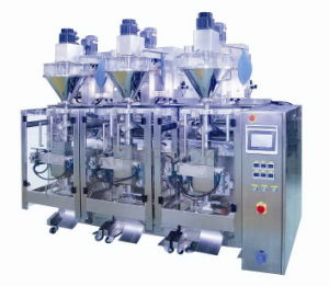 Automatic Triplet Powder Pouch Packing Machine (KP420TR) pictures & photos