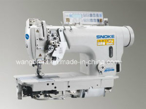 High-Speed Double-Needle Mini-Oil Lockstitch Sewing Machine