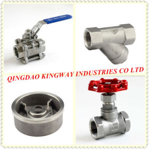 Stainless Steel 3PC Flanged Ball Valve, pictures & photos