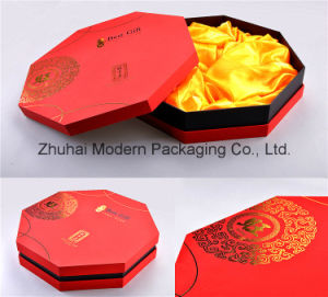 Customized Design Hot Stamping Mooncake Box with Blister Tray pictures & photos