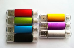 New OTG Customized USB Flash Drive for Mobile Phone (VFD-1111) pictures & photos