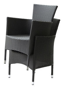 Flat Rattan/Wicker Ok Chair for Garden/Patio Furniture (BZ-CR081)