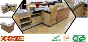 Upscale High Quality Cash Checkout Counter pictures & photos