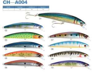 Wholesale Hard Body Artificial Plastic Fishing Lures pictures & photos