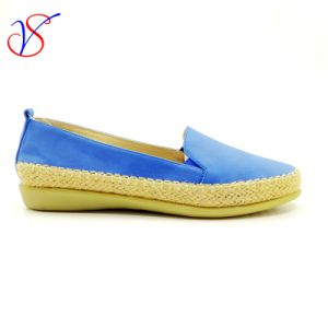Six Color Soft Comfortable Flax Lady Women Shoes Sv-FT 011A pictures & photos