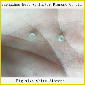 China Manufacture White Hpht Rough Crystal Synthetic Diamond/ CVD Diamond