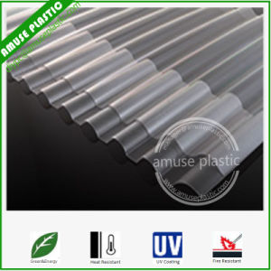 Wholesale 100% Virgin Material Polycarbonate Corrugated Plastic Roof Board Sheets pictures & photos