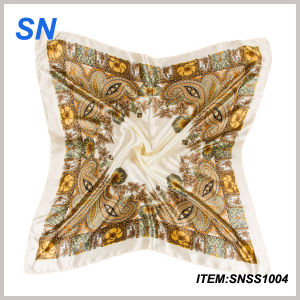 Wholesale 2015 New Fashionable Indian Silk Scarf pictures & photos