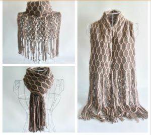 Ladies Super Fit Knitting Scarf