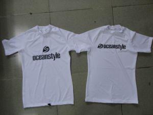 Lycra Spandex Rash Guard T-Shirt pictures & photos