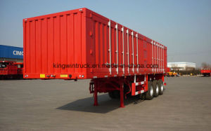 China Brand 3 Axles Cargo Semi pictures & photos