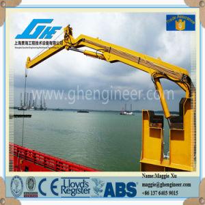 Hydraulic Knuckle Boom Marine Jib Crane (GHEO-5) pictures & photos