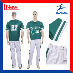 Healong Fresh Design Sports Clothing Gear Sublimation Men′s Baseball Uniforms pictures & photos