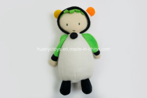 Knitting Fabric Baby Stuffed Dog Toy pictures & photos