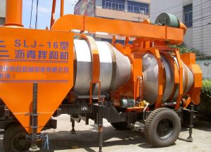 Mobile Asphalt Mixer SLJ-16