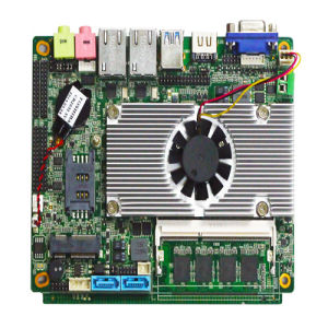 High Performance Core I3 Processor Motherboard with Lvds/VGA Port pictures & photos