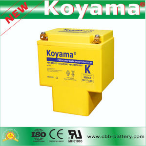 High Capacity Motor Battery 19ah 12V (KB16A) pictures & photos