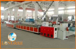 PVC WPC Profile Extrusion Line (LGW) pictures & photos
