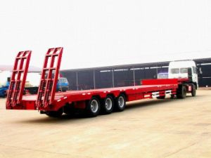 Transportation Vehicle Lowbed Semitrailer pictures & photos