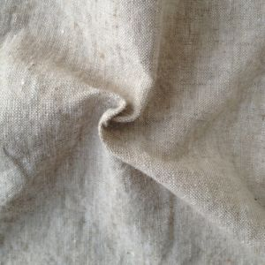 Antique Hemp Fabric with Two-Tone Color in Light Weight (QF13-0119) pictures & photos