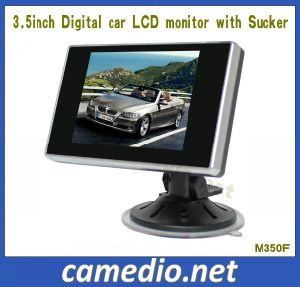 "3.5"" Digital LCD Car Reversing Monitor with Sucker Bracket pictures & photos"