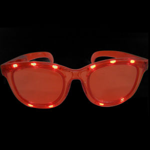 Holiday Party LED Flashing Fashion Sunglasses (QY-LS016) pictures & photos