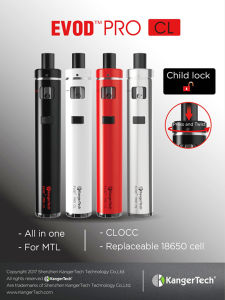 All in One Device Kanger Lantest Evod PRO CL Kit pictures & photos