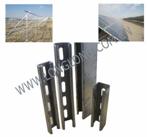 Manufactured Since 2002 Strut C-Channel (slotted) for PV Project pictures & photos